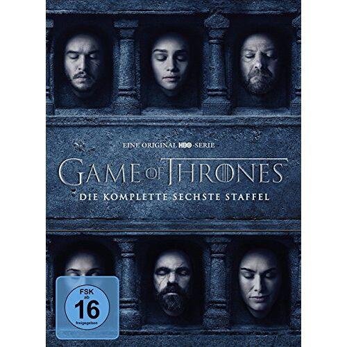 Marshall Game of Thrones - Staffel 6 [5 DVDs] - Preis vom 18.04.2021 04:52:10 h