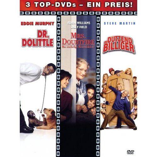 Betty Thomas - Dr. Dolittle - Mrs. Doubtfire - Im Dutzend billiger - 3 DVDs - Preis vom 13.05.2021 04:51:36 h