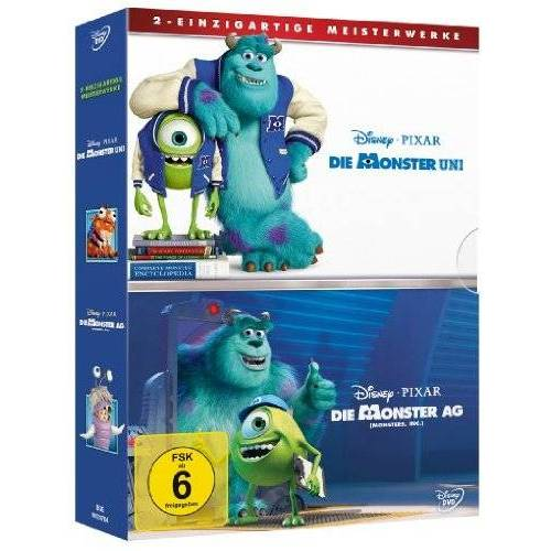 Peter Docter - Die Monster Uni / Die Monster AG [2 DVDs] - Preis vom 10.09.2020 04:46:56 h