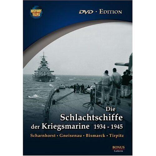 Kriegsmarine - History Films - Die Schlachtschiffe der Kriegsmarine 1934-1945 - Preis vom 06.09.2020 04:54:28 h