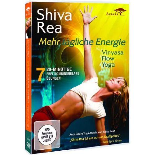 Shiva Rea - Mehr tägliche Energie: Vinyasa Flow Yoga - Preis vom 31.03.2020 04:56:10 h