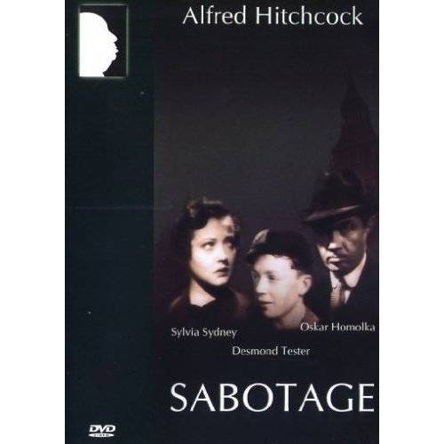 Alfred Hitchcock - Sabotage - Alfred Hitchcock - Preis vom 21.10.2020 04:49:09 h