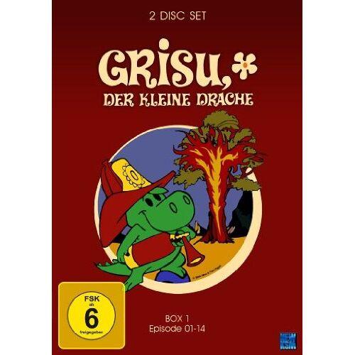 Toni Grisu - Der kleine Drache, Vol. 1, Episode 01-14 (2 Disc Set) - Preis vom 05.09.2020 04:49:05 h