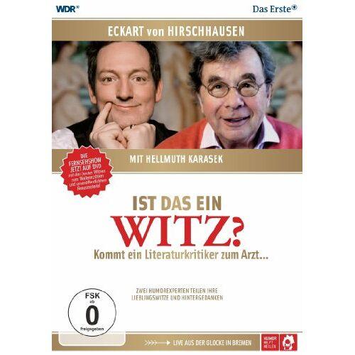 Dr. med. Eckart von Hirschhausen - Hirschhausen & Karasek - Ist das ein Witz? [2 DVDs] - Preis vom 09.04.2021 04:50:04 h