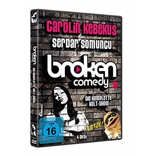 Carolin Kebekus - Carolin Kebekus & Serdar Somuncu : Broken Comedy - Die komplette Kultshow [4 DVDs] - Preis vom 12.04.2021 04:50:28 h