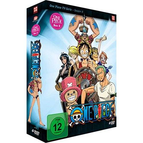 Konosuke Uda - One Piece - Box 8: Season 8 (Episoden 229-263) [6 DVDs] - Preis vom 20.10.2020 04:55:35 h