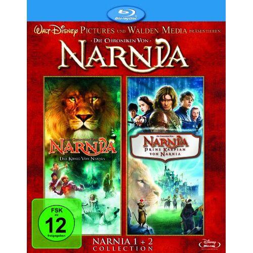Andrew Adamson - Die Chroniken von Narnia 1+2: Der König von Narnia / Prinz Kaspian von Narnia [Blu-ray] - Preis vom 09.04.2021 04:50:04 h