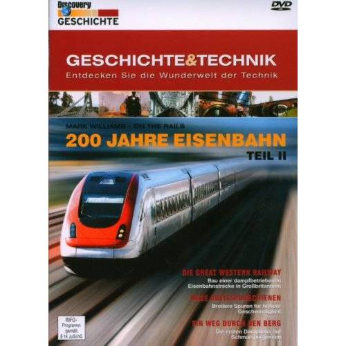 - Discovery Geschichte & Technik - 200 Jahre Eisenbahn Teil II - Preis vom 06.04.2021 04:49:59 h