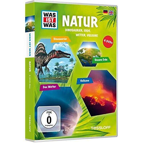 - Was ist Was: Natur - Dinos, Erde, Wetter, Vulkane [4 DVDs] - Preis vom 12.05.2021 04:50:50 h