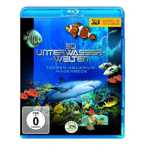 - 3D Unterwasserwelten - Tropen-Aquarium Hagenbeck [3D Blu-ray] - Preis vom 26.01.2021 06:11:22 h