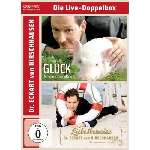 Dr. Eckart von Hirschhausen - Eckart von Hirschhausen - Die Live-Doppelbox [2 DVDs] - Preis vom 09.04.2021 04:50:04 h