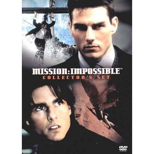 Tom Cruise - Mission: Impossible: Teil 1 + Mission:Impossible 2 (2 DVDs) - Preis vom 19.01.2021 06:03:31 h
