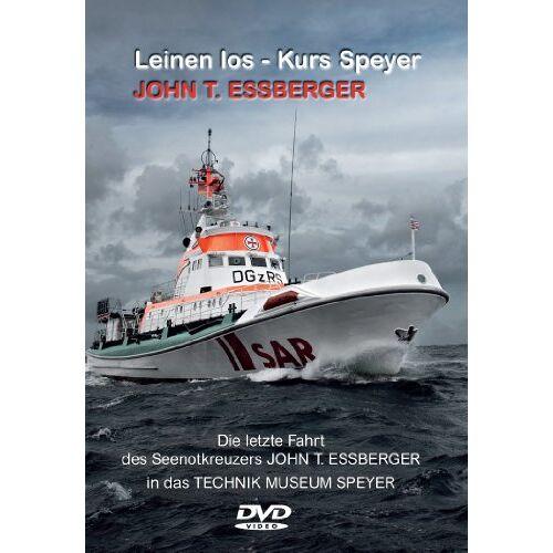 Sven Junge - DVD Seenotkreuzer John T. Essberger Leinen los - Kurs Speyer - Preis vom 18.09.2019 05:33:40 h