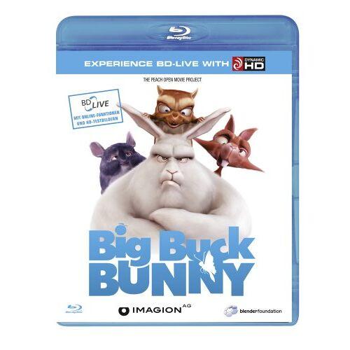 Sacha Goedegebure - Big Buck Bunny [Blu-ray] - Preis vom 14.04.2021 04:53:30 h