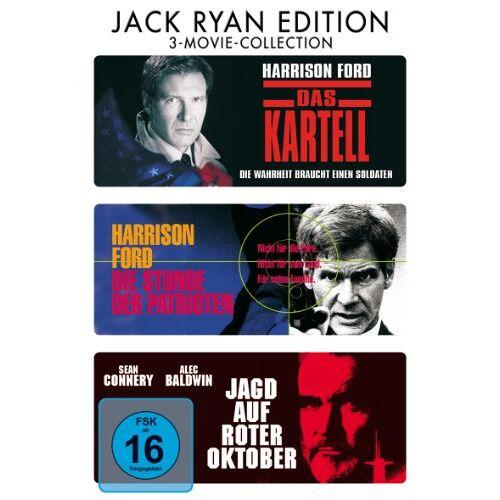 - Das Kartell / Die Stunde der Patrioten / Jagd auf Roter Oktober [3 DVDs] - Preis vom 28.02.2021 06:03:40 h