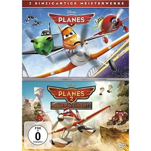 Klay Hall - Planes + Planes 2 Doppelpack [2 DVDs] - Preis vom 03.04.2020 04:57:06 h