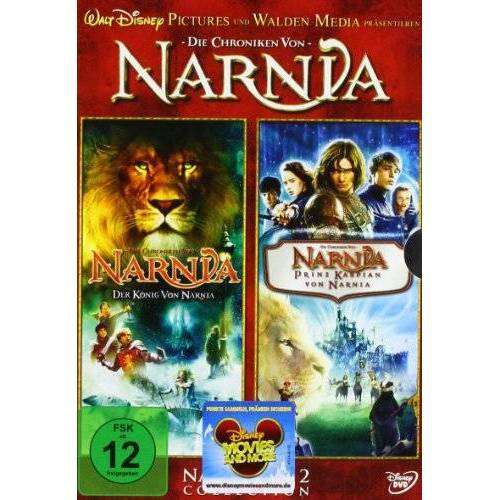 Andrew Adamson - Die Chroniken von Narnia - Der König von Narnia / Prinz Kaspian von Narnia [2 DVDs] - Preis vom 16.04.2021 04:54:32 h