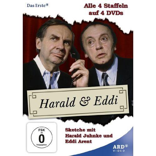 Harald Juhnke - Harald & Eddi - alle 4 Staffeln [4 DVDs] - Preis vom 09.05.2021 04:52:39 h