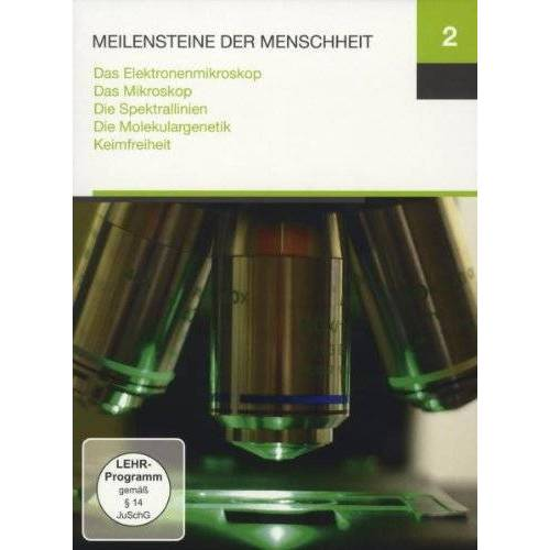 - Meilensteine 2 (Das Elektronenmikroskop / Das Mikroskop / Die Spektrallinien / Die Molekulargenetik / Keimfreiheit) - Preis vom 09.04.2021 04:50:04 h