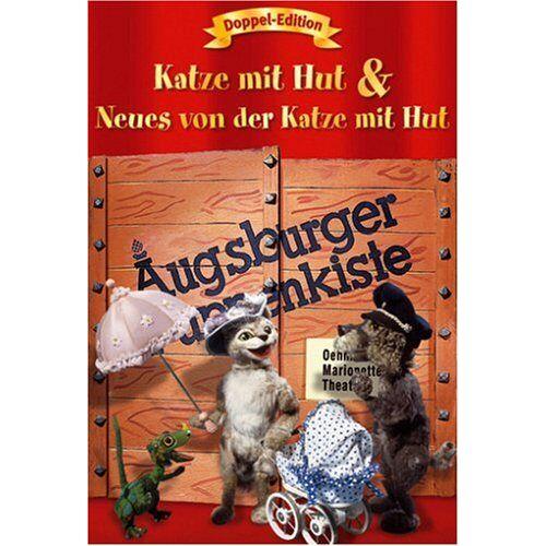 Sepp Strubel - Augsburger Puppenkiste: Katze mit Hut + Neues von der Katze mit Hut (Doppel-Edition) [2 DVDs] - Preis vom 12.04.2021 04:50:28 h