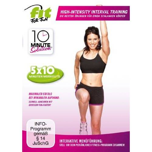 Lisa Kinder - Fit for Fun - 10 Minute Solution: High-Intensity-Interval Training - Preis vom 04.04.2020 04:53:55 h