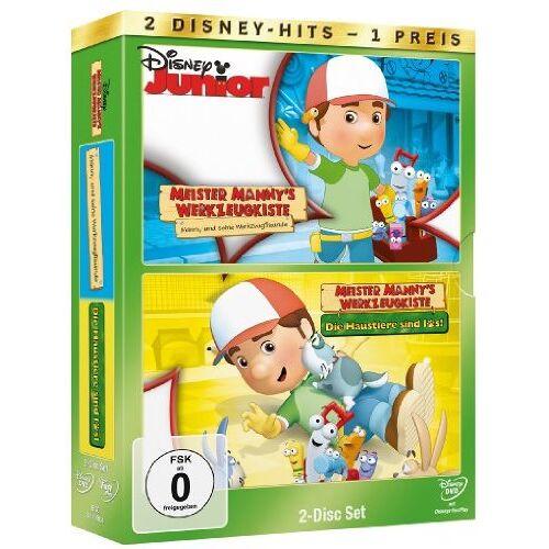 Charles E. Bastien - Meister Mannys Werkzeugkiste: Manny und seine Werkzeugfreunde / Die Haustiere sind los (2 [2 DVDs] - Preis vom 05.07.2020 05:01:00 h
