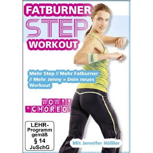 Peter Brose - Jennifer Hößler: Fatburner Step Workout (Mehr Step // Mehr Fatburner // Mehr Jenny » Dein neues Workout 2013) - Preis vom 02.12.2020 06:00:01 h