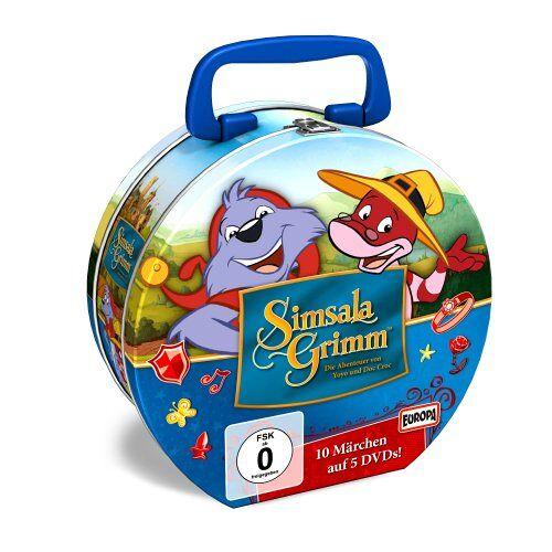 Yoyo - SimsalaGrimm - SimsalaGrimm Tin-Box 2(Limited Edition) [5 DVDs] - Preis vom 19.10.2020 04:51:53 h