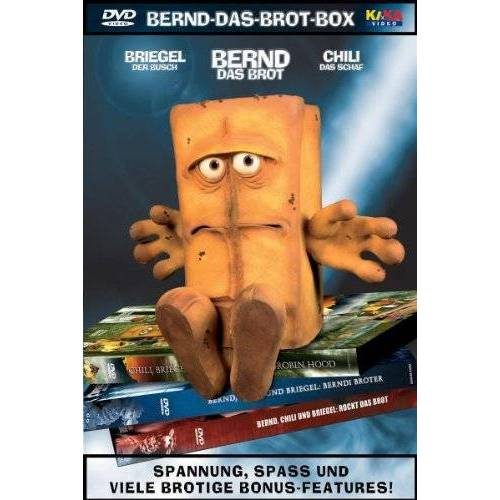 Tommy Krappweis - Bernd das Brot - Bernd das Brot 3 DVD Box - Preis vom 26.01.2021 06:11:22 h