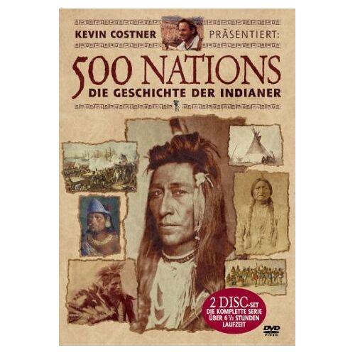 Jack Leustig - 500 Nations - Die Geschichte der Indianer (2 DVDs) - Preis vom 08.04.2021 04:50:19 h