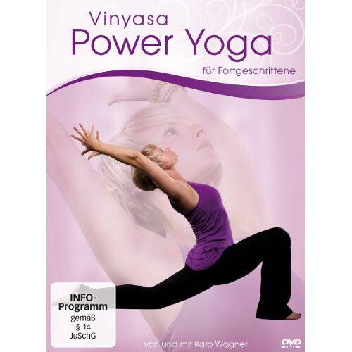 Becker Power Yoga - Vinyasa Power Yoga für Fortgeschrittene: Von und mit Caro Wagner - Preis vom 21.11.2019 05:59:20 h