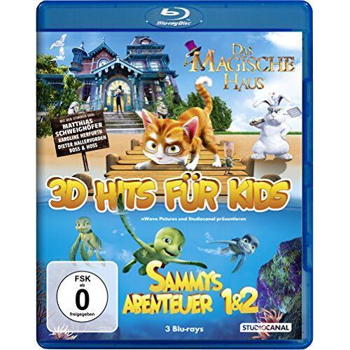 Ben Stassen - 3D Hits für Kids [3D Blu-ray] - Preis vom 14.01.2021 05:56:14 h