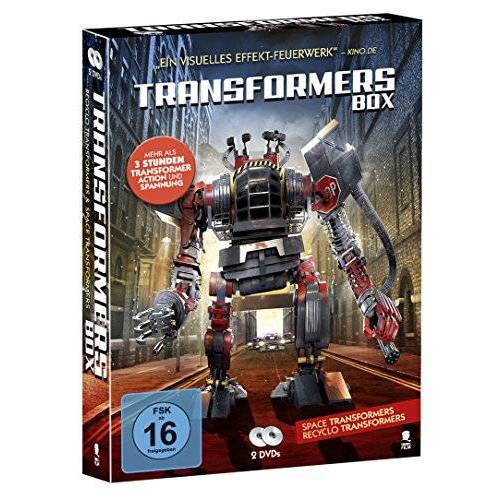 Paul Ziller - Transformers Box mit 2 DVDs (Transformer Action und Spannung: Space Transformers & Recyclo Transformers) - Preis vom 20.10.2020 04:55:35 h