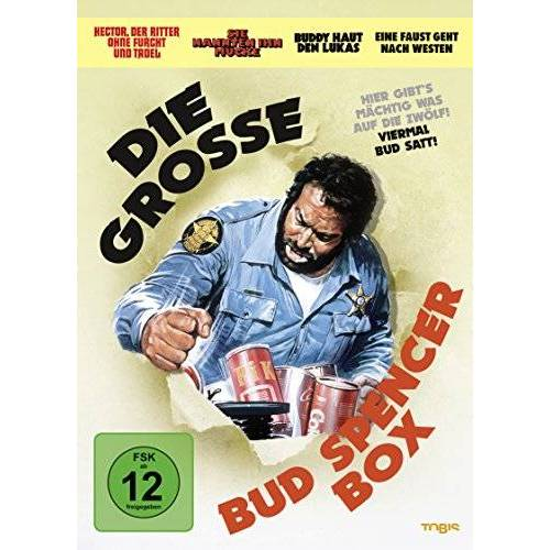 Bud Spencer - Die große Bud Spencer Box [4 DVDs] - Preis vom 09.04.2021 04:50:04 h