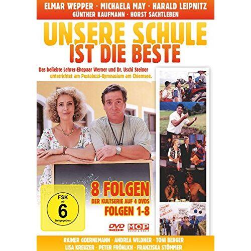 Harald Leipnitz - Unsere Schule ist die Beste - Folge 1-8 auf 4 DVDs - Preis vom 20.10.2020 04:55:35 h