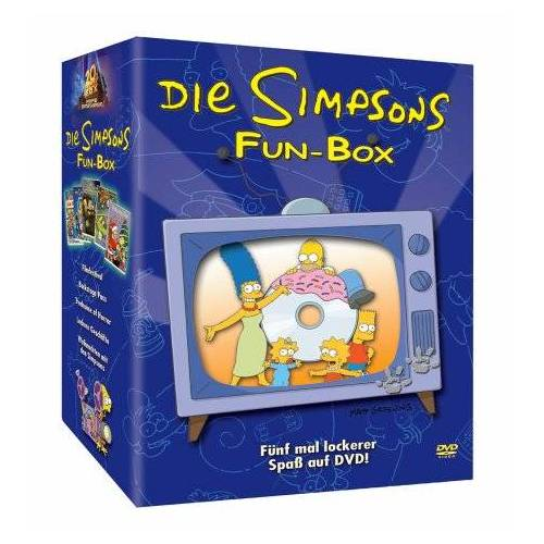 - Die Simpsons Fun-Box (5 DVDs) - Preis vom 30.03.2020 04:52:37 h