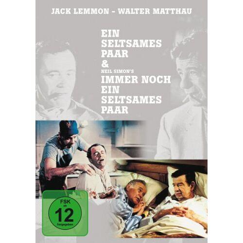 Walter Matthau - Ein seltsames Paar & Immer noch ein seltsames Paar (2 DVDs) - Preis vom 16.01.2021 06:04:45 h