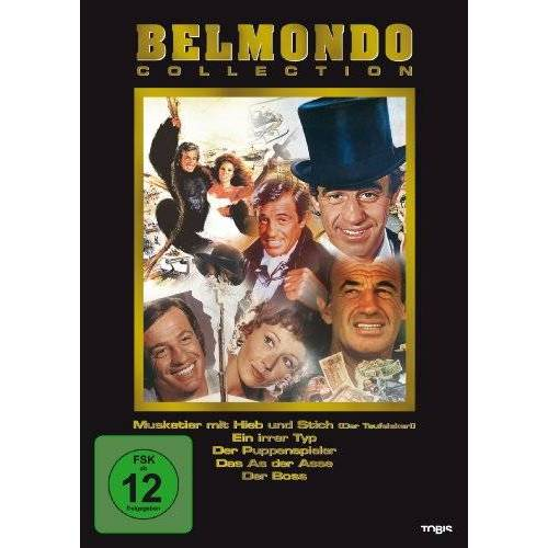 Jean-Paul Belmondo - Belmondo Collection (5 DVDs) - Preis vom 21.10.2020 04:49:09 h