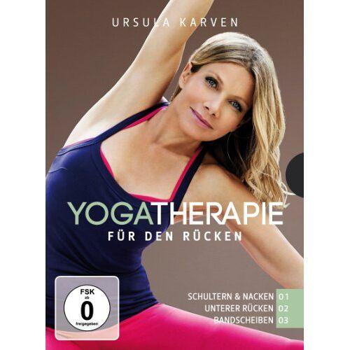 Ursula Karven - Yogatherapie 01 - 03 [3 DVDs] - Preis vom 22.07.2020 04:56:55 h