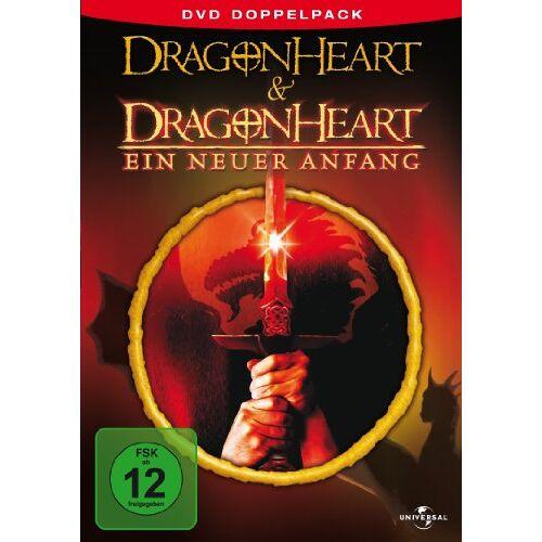 Rob Cohen - Dragonheart & Dragonheart - Ein neuer Anfang [2 DVDs] - Preis vom 16.01.2021 06:04:45 h