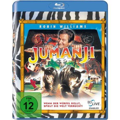 Joe Johnston - Jumanji [Blu-ray] - Preis vom 22.02.2020 06:00:29 h
