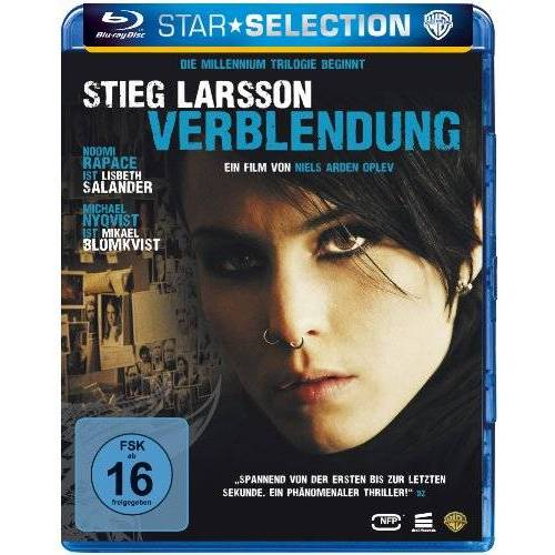Niels Arden Oplev - Verblendung [Blu-ray] - Preis vom 13.05.2021 04:51:36 h