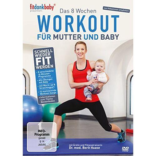 fitdankbaby - Das 8 Wochen Workout für Mutter & Baby - präsentiert von fitdankbaby - Preis vom 22.11.2020 06:01:07 h