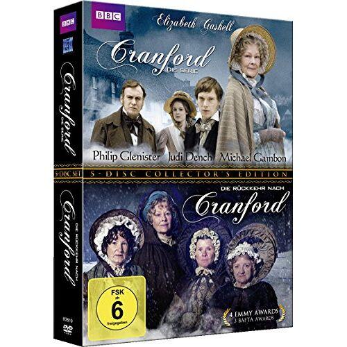 Simon Curtis - Elizabeth Gaskell's Cranford inkl. Die Rückkehr nach Cranford (Gesamtedition im 5 Disc Set) - Preis vom 21.01.2020 05:59:58 h