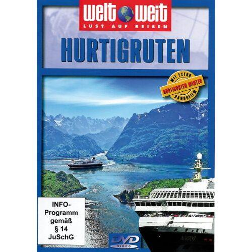"""nicht bekannt - Hurtigruten (Reihe: welt weit) mit Bonusfilm """"Hurtigruten Winter"""" Länge: ca. 80 Min. - Preis vom 18.04.2021 04:52:10 h"""
