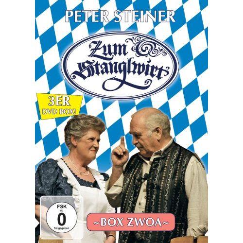 Peter Steiner - Zum Stanglwirt - Box Zwoa [3 DVDs] - Preis vom 21.01.2021 06:07:38 h