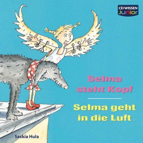 Saskia Hula - CD WISSEN Junior - Selma steht Kopf / Selma geht in die Luft, 1 CD - Preis vom 22.04.2021 04:50:21 h