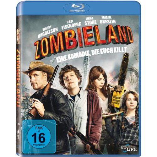 Ruben Fleischer - Zombieland [Blu-ray] - Preis vom 21.04.2021 04:48:01 h