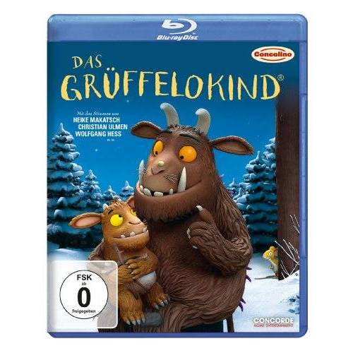 Johannes Weiland - Das Grüffelokind [Blu-ray] - Preis vom 10.04.2021 04:53:14 h