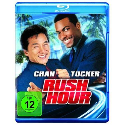 Brett Ratner - Rush Hour [Blu-ray] - Preis vom 18.10.2020 04:52:00 h